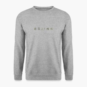 BR/INK Camo Logo - Men's Sweatshirt