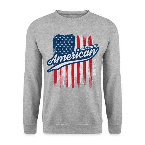 usa american dreams - Mannen sweater