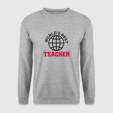 worlds best teacher - Männer Pullover