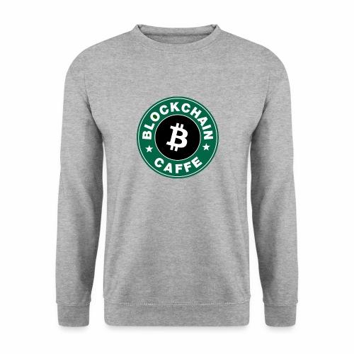 BlockChain Caffè Logo - Felpa da uomo