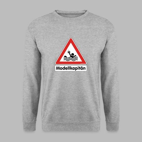 Warnschild Modellkapitän - Männer Pullover