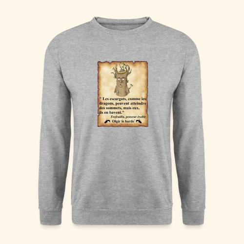 arbre escargot sommet - Sweat-shirt Homme