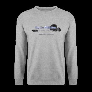 Radio PARALAX Facebook-Logo mit Webadresse - Männer Pullover