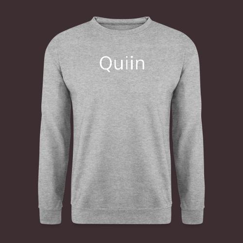 White_Quiin_outline - Männer Pullover