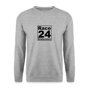 Race24 logo in black - Men's Sweatshirt