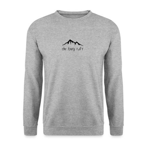 Der Berg ruft schwarz - Männer Pullover
