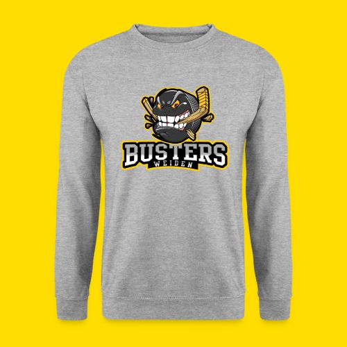 Busters Fun Shirt - ANGRY PUCK - Männer Pullover