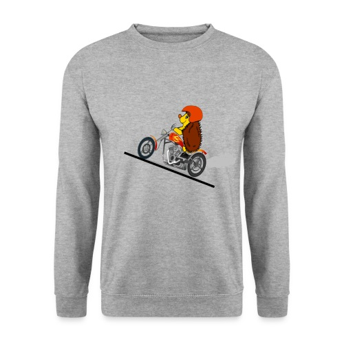 hérisson biker - Sweat-shirt Homme