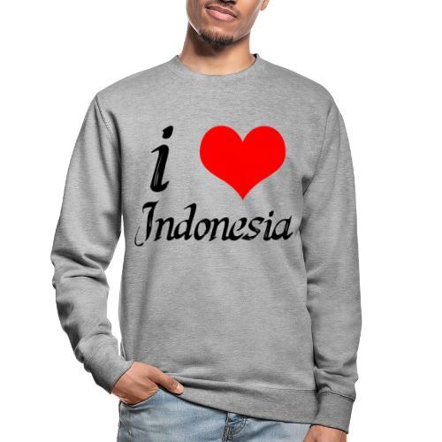 iloveindonesia png - Unisex sweater