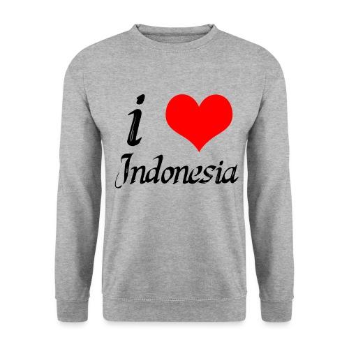 iloveindonesia png - Mannen sweater
