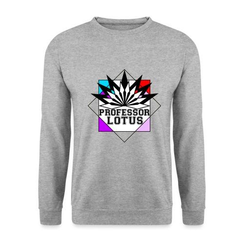 Professor Lotus - larger - Men's Sweatshirt