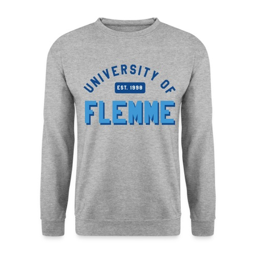 UniversityOfFlemme2 png - Sweat-shirt Unisexe