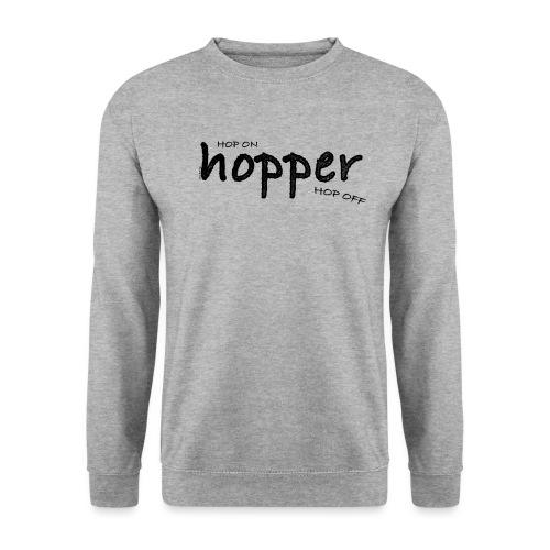 MuchoHop Hop On/Off (black) - Sudadera unisex