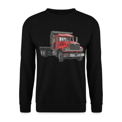 Flat Truck 3-axle - Red - Men's Sweatshirt