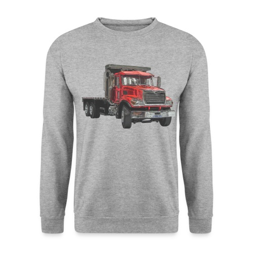 Flat Truck 3-axle - Red - Men's Sweatshirt