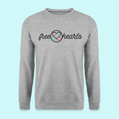 freehearts with color logo - Männer Pullover