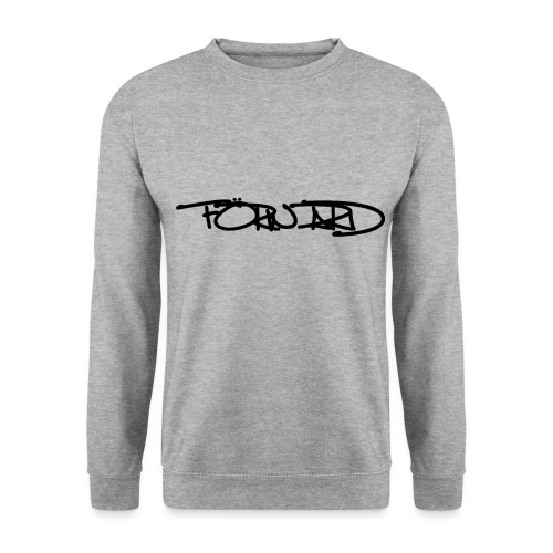 FORWARD OF RIDE ORIGINAL SIGNATURE BLACK - Sweat-shirt Unisexe