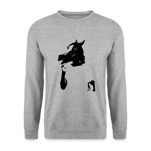 Funny horse - Sweat-shirt Homme