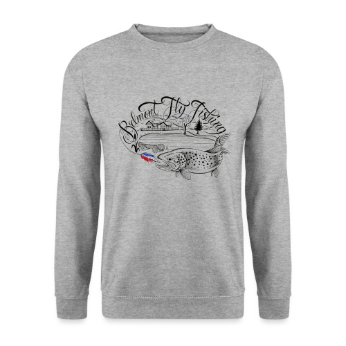 belmont fly fishing - Sweat-shirt Unisexe