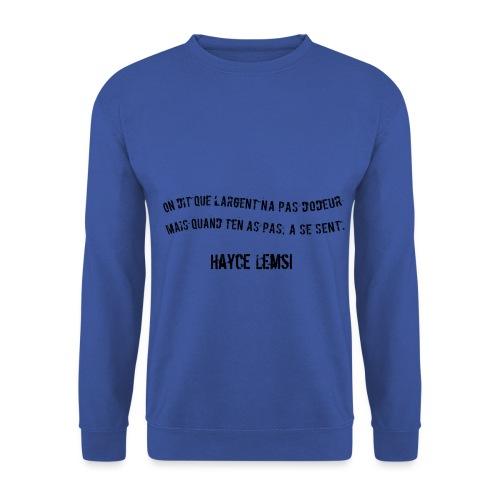 Punchline de Hayce lemsi - Sweat-shirt Unisex