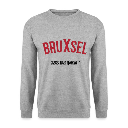 BRUXSEL - Sois pas jaloux - Red - Sweat-shirt Homme