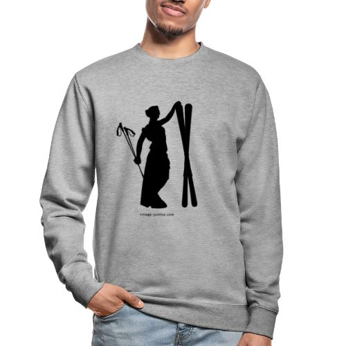 La justice au ski - Sweat-shirt Unisexe