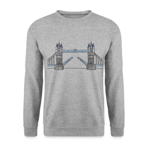 Tower Bridge in London c - Männer Pullover