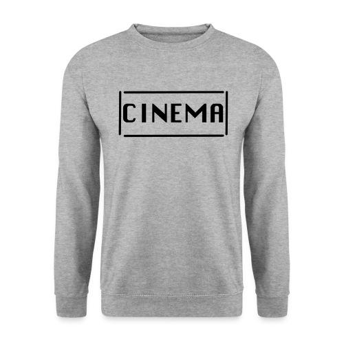 Cinema mit Strichen png - Unisex Pullover
