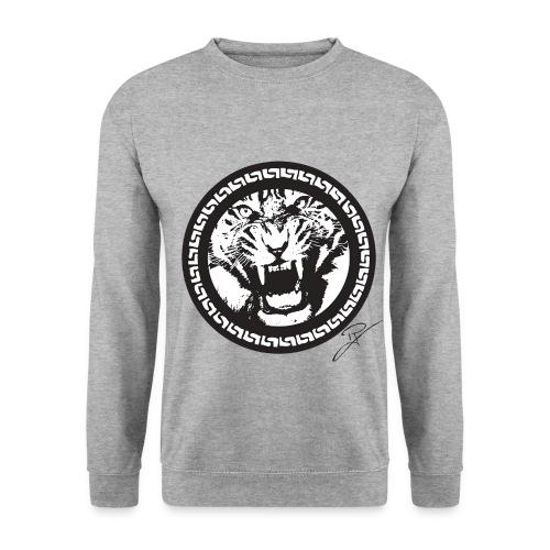 snowtiger gif - Männer Pullover