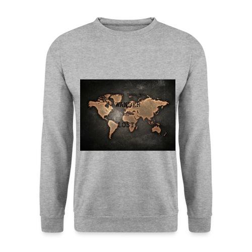 Weltkarte - Unisex Pullover