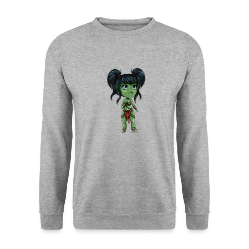 Chibi Orc Girl - Sweat-shirt Unisexe