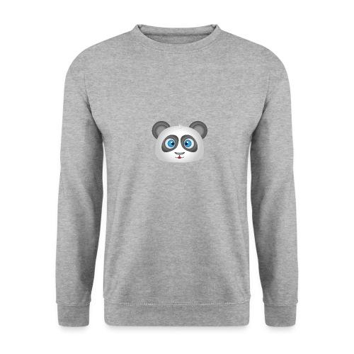 panda head / cabeza de panda 2 - Sudadera unisex