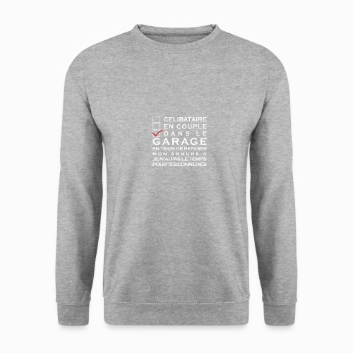 Celibataire en couple etc - Sweat-shirt Unisex
