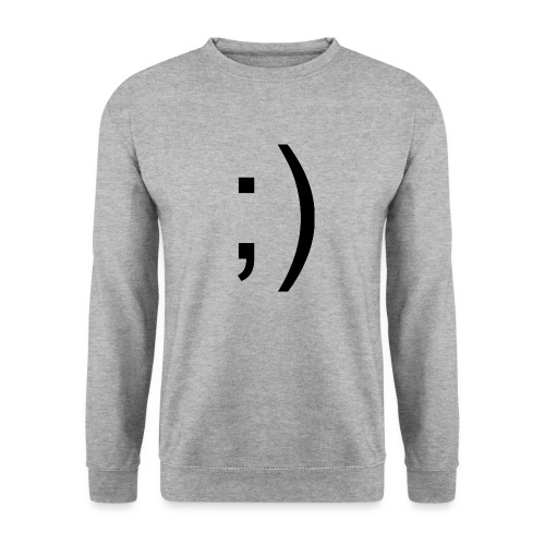 Wink Wink Smile - Men's Sweatshirt