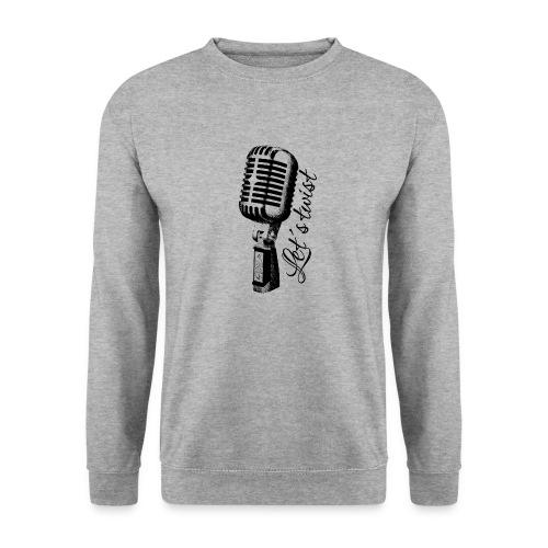 Mikrofon - Männer Pullover