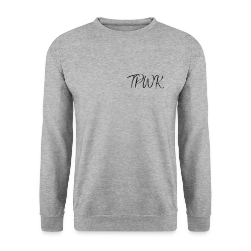 TPWK fancy handwriting black - Men's Sweatshirt