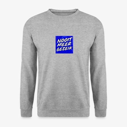 De 'Nooit Meer Gezeik' Merchandise - Mannen sweater