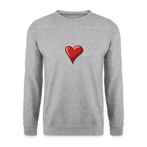 Love (coeur) - Sweat-shirt Unisexe