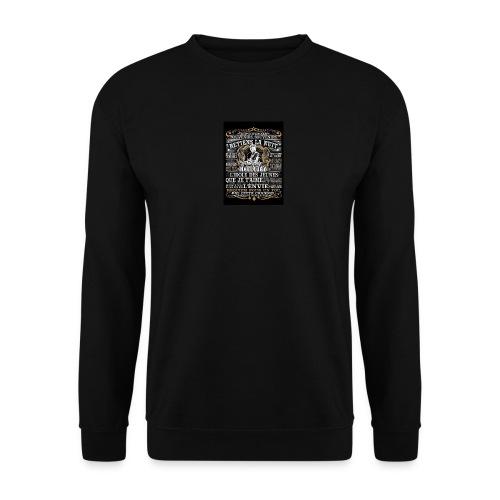 Johnny hallyday diamant peinture Superstar chanteu - Sweat-shirt Unisex