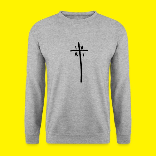 Cross - INRI (Jesus of Nazareth King of Jews) - Unisex Sweatshirt