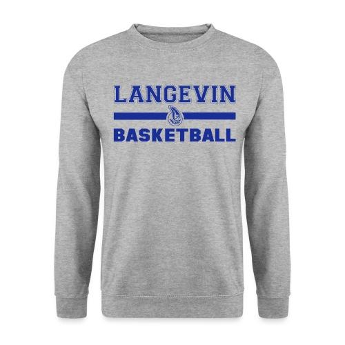 LangevinLogoBasketball st - Sweat-shirt Homme