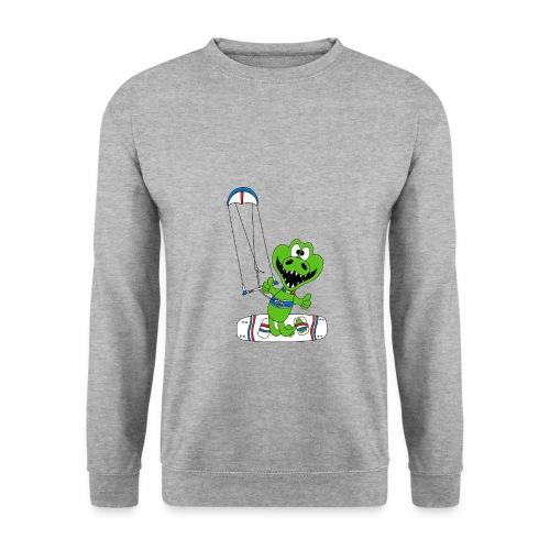 Lustiges Krokodil - Kite - Kiter - Kitesurfer - Unisex Pullover