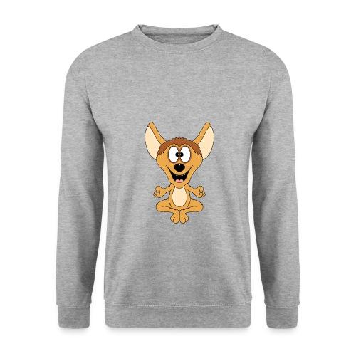 Lustige Hyäne - Yoga - Chillen - Relaxen - Fun - Unisex Pullover
