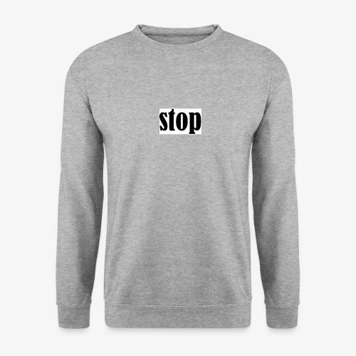 stop - Unisex sweater