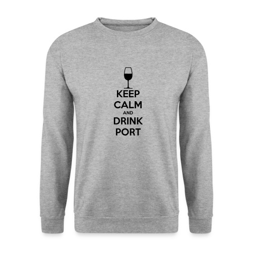 Keep Calm and Drink Port - Men's Sweatshirt