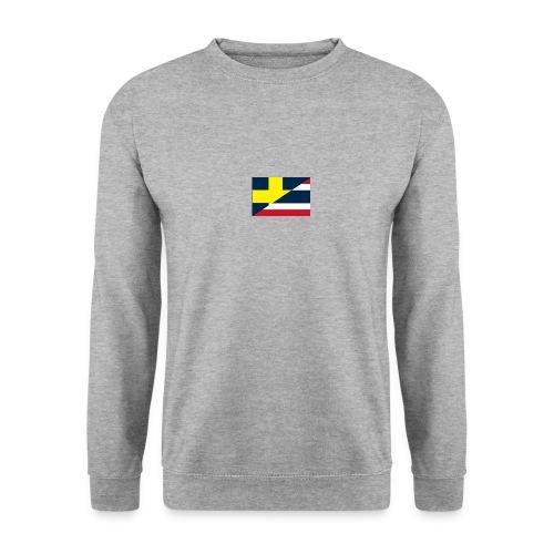 thailands flagga dddd png - Men's Sweatshirt