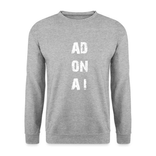 AD ON AI - Männer Pullover