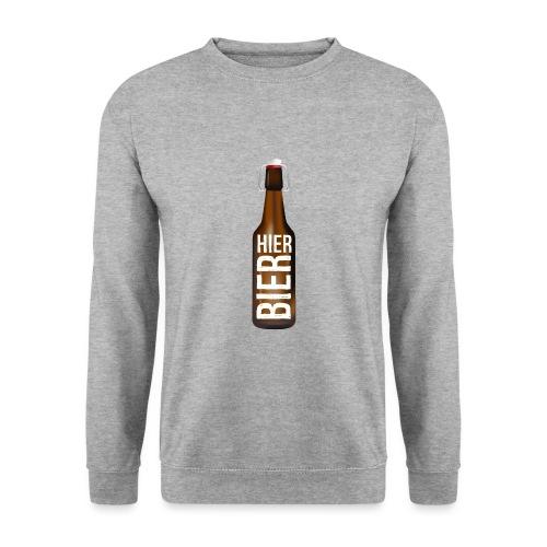 Hier Bier - Shirt - Unisex Pullover