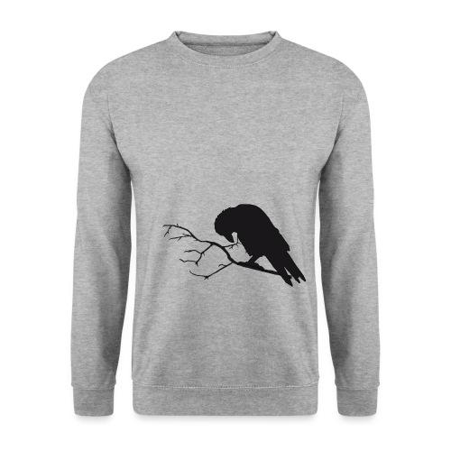 crow png - Men's Sweatshirt