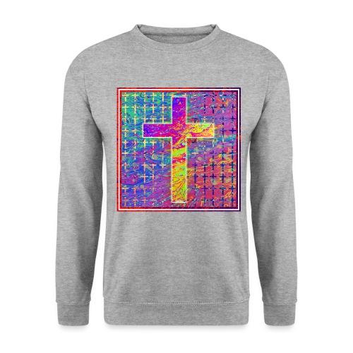 NEW CROSS 1 jpg - Men's Sweatshirt